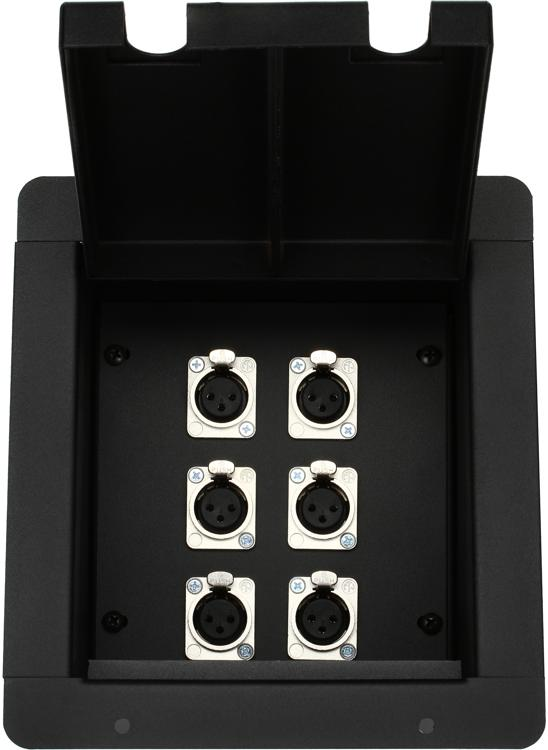 Pro Co PM6XF Mini Floor Box image 1