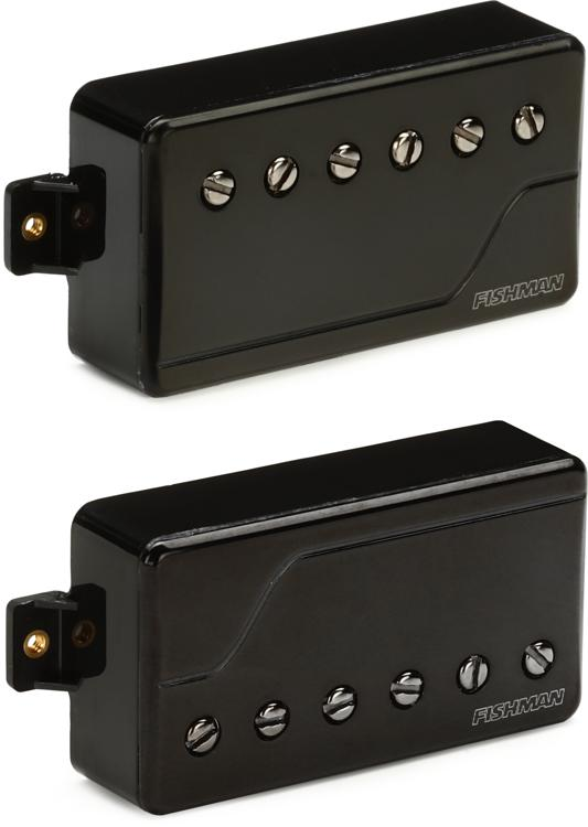 Fishman Fluence Classic Humbucker Pickup Set with Black Nickel Cover image 1
