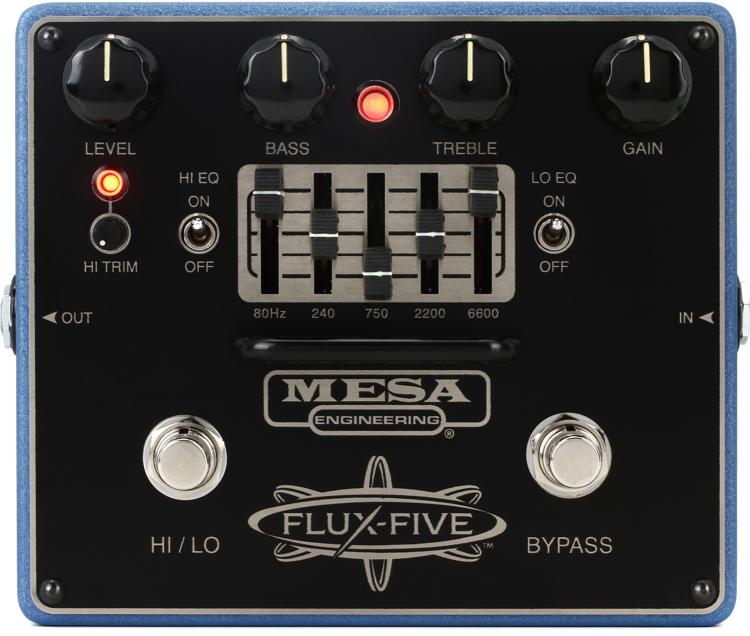 Mesa/Boogie Flux-Five Overdrive Pedal with 5-band EQ image 1