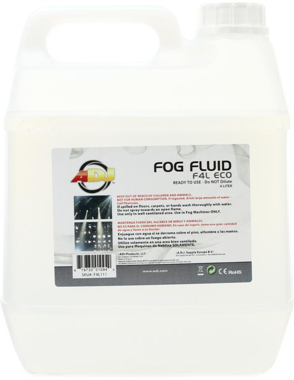ADJ F4L ECO Water-based Fog Fluid - 4 Liter image 1