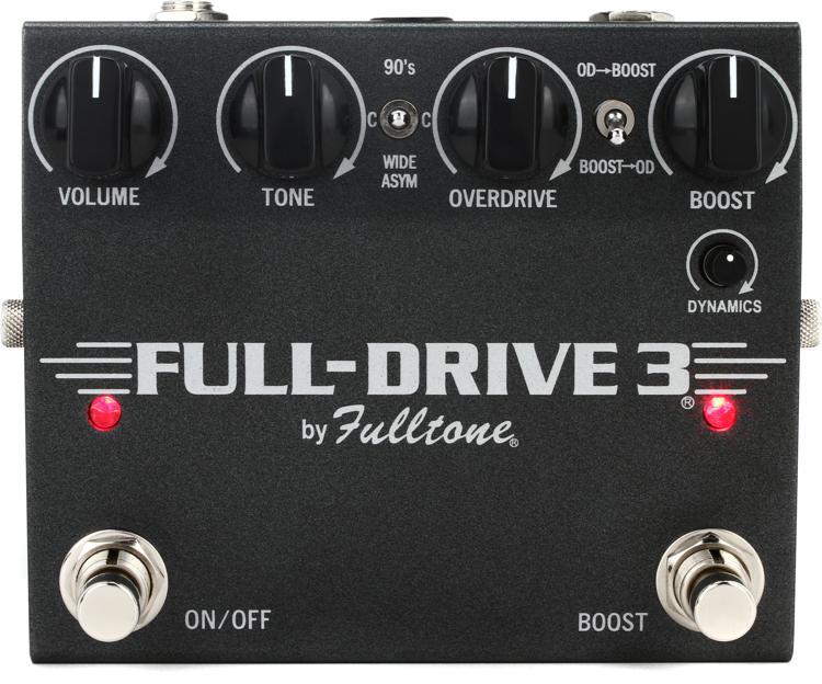 Fulltone Fulldrive 3 Overdrive / Boost Pedal image 1