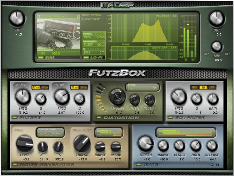 McDSP FutzBox HD v6 Plug-in image 1