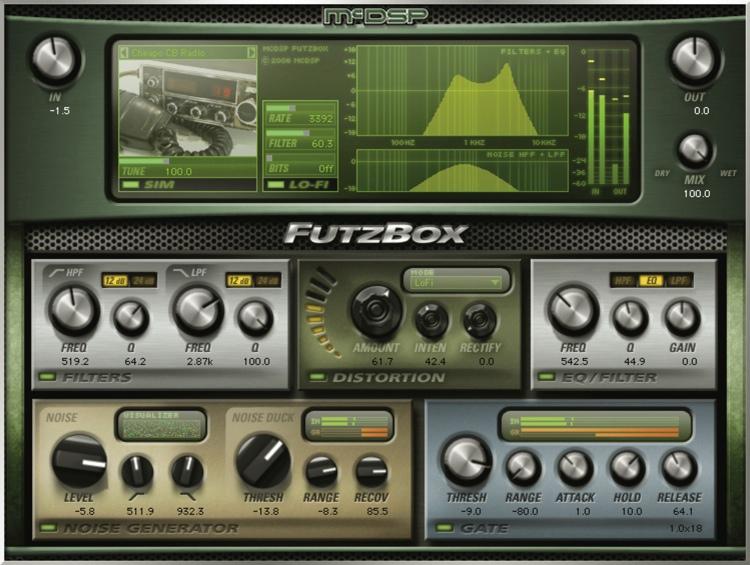 McDSP FutzBox Native v6 Plug-in image 1