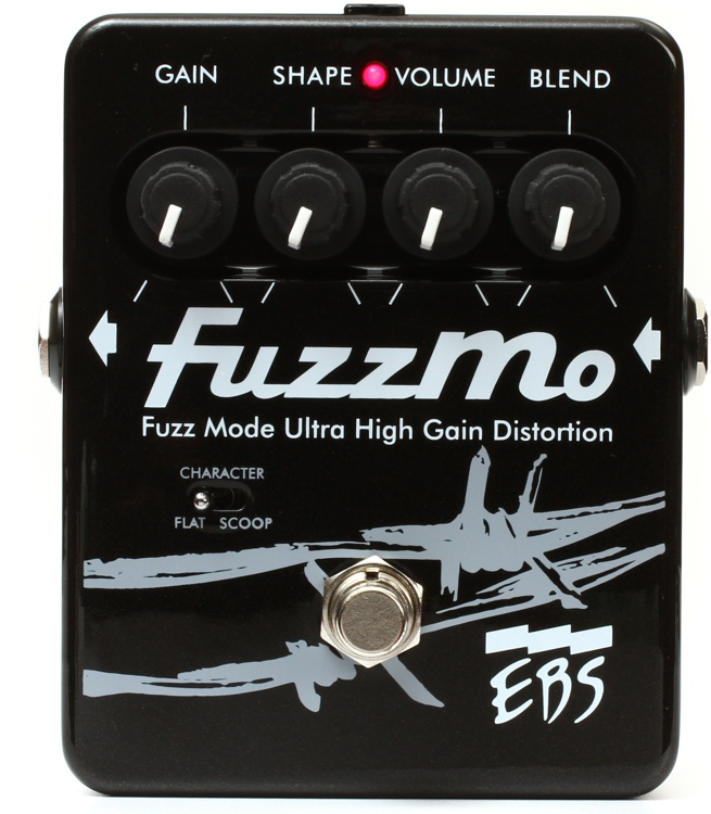 EBS FuzzMo Ultra High Gain Fuzz Pedal image 1