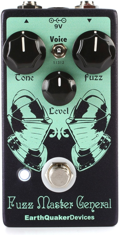 EarthQuaker Devices Fuzz Master General Octave Fuzz Blaster Pedal image 1