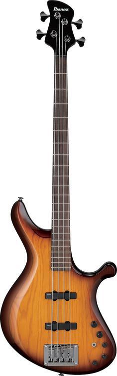 Ibanez Grooveline G104 - 4 String Brown Burst image 1