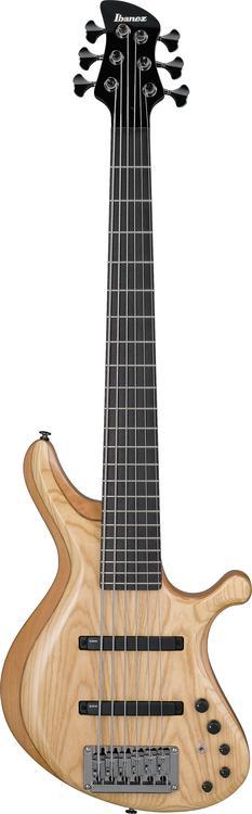 Ibanez Grooveline G106 6-string Bass - 6 string Natural image 1