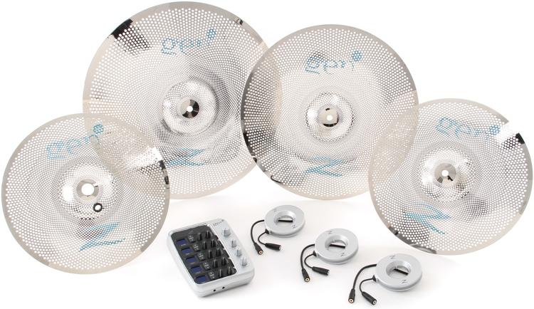 Gen16 Acoustic Electric Cymbal Box Set w/Direct Source - 13