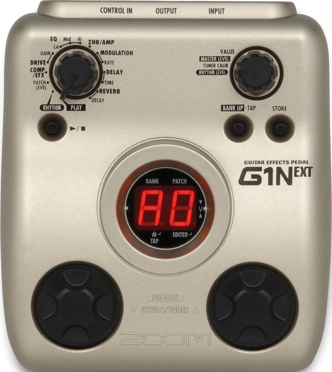 Zoom G1N Multi Effects Pedal image 1