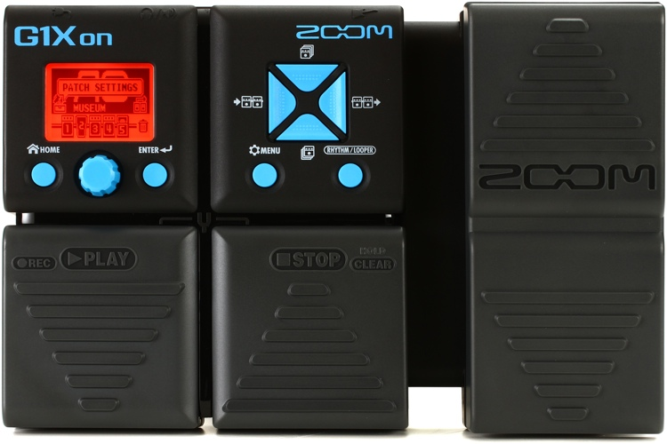 Zoom G1Xon Multi-effects Pedal with Expression Pedal image 1