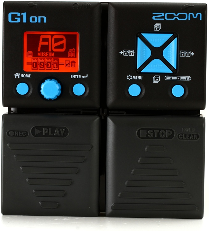 Zoom G1on Multi-effects Pedal image 1