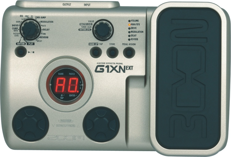 Zoom G1XN Multi Effects Pedal image 1