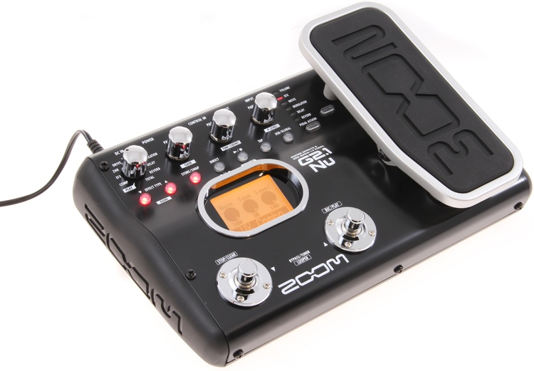 Zoom G2.1Nu Multi-Effects Pedal with USB and Expression Pedal image 1