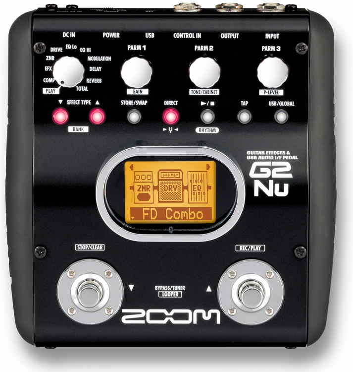 Zoom G2Nu Multi-Effects Pedal with USB image 1