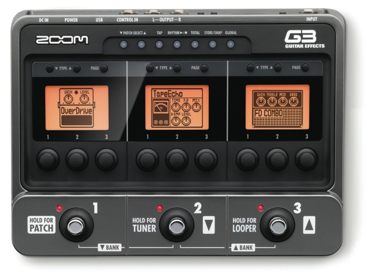 Zoom G3 Multi Effects Pedal image 1