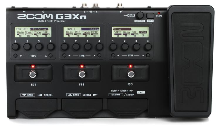 Zoom G3Xn Multi-effects Processor with Expression Pedal image 1