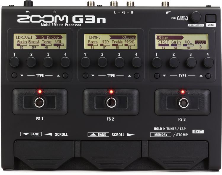 Zoom G3n Multi-effects Processor image 1