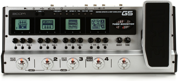 Zoom G5 Multi-FX Pedal image 1