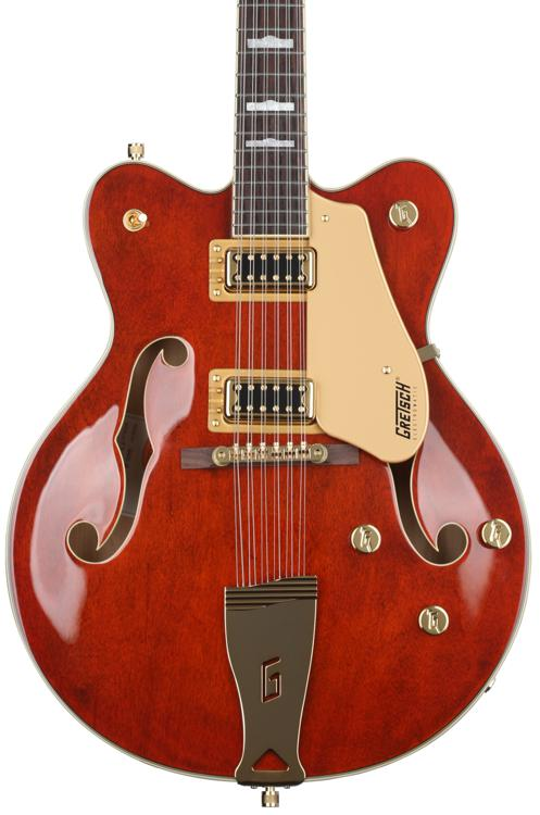 Gretsch G5422G-12 Electromatic Hollowbody Double-Cut 12-string - Walnut Stain image 1