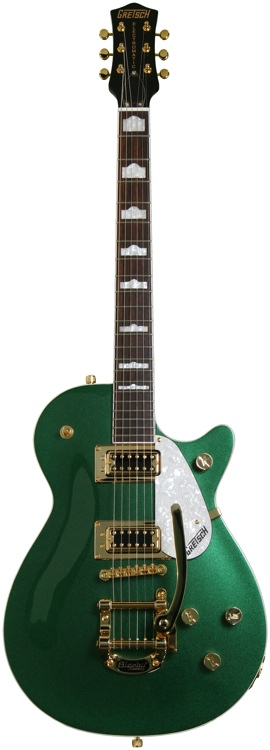 Gretsch Electromatic G5432TG Pro Jet Sweetwater Exclusive - Green, Bigsby image 1