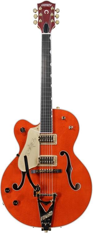 Gretsch G6120 Chet Atkins Left Handed - Orange Stain Left Handed image 1