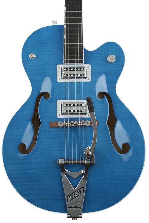 Gretsch Brian Setzer Hot Rod - Harbor Blue image 1