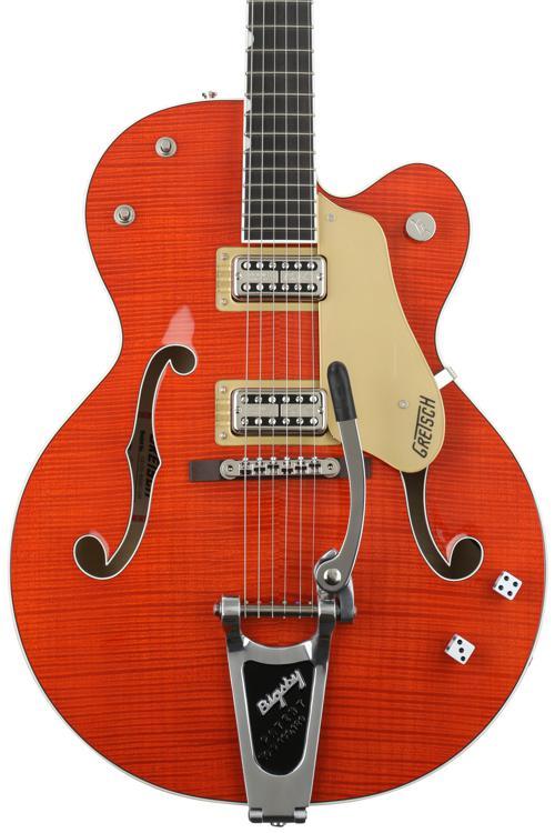 Gretsch Brian Setzer Nashville - Orange, Urethane image 1