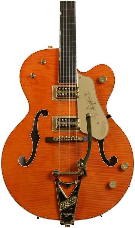Gretsch G6120TM Chet Atkins Hollow Body - Tiger Maple image 1