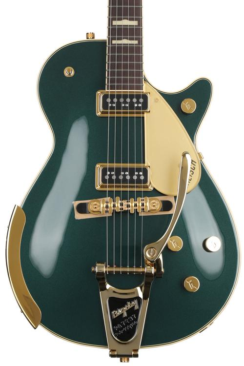 Gretsch G6128T-57 Vintage Select Edition \'57 Duo Jet - Cadillac Green image 1