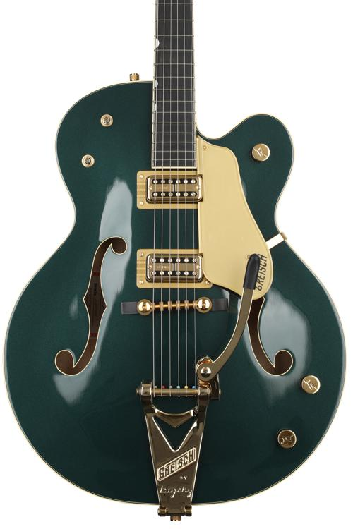 Gretsch G6196T-59GE Vintage Select Country Club - Cadillac Green, Bigsby image 1