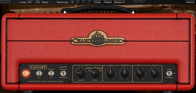 Chandler Limited GAV19T Amp Plug-in image 1