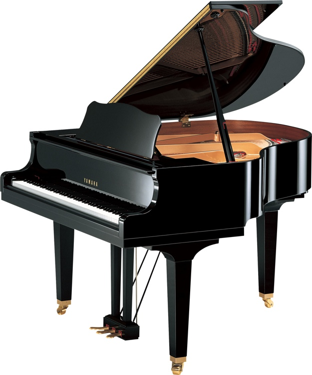 Yamaha GB1K Acoustic Grand Piano - Polished Ebony image 1