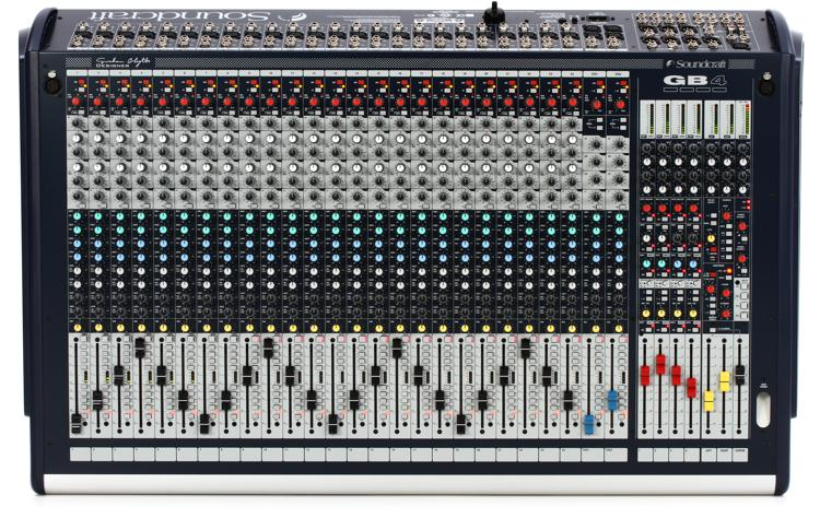 Soundcraft GB4 24 Console image 1