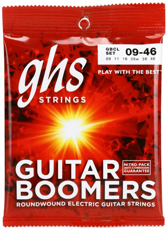 GHS GBCL Guitar Boomers Roundwound Custom Light Electric Guitar Strings image 1
