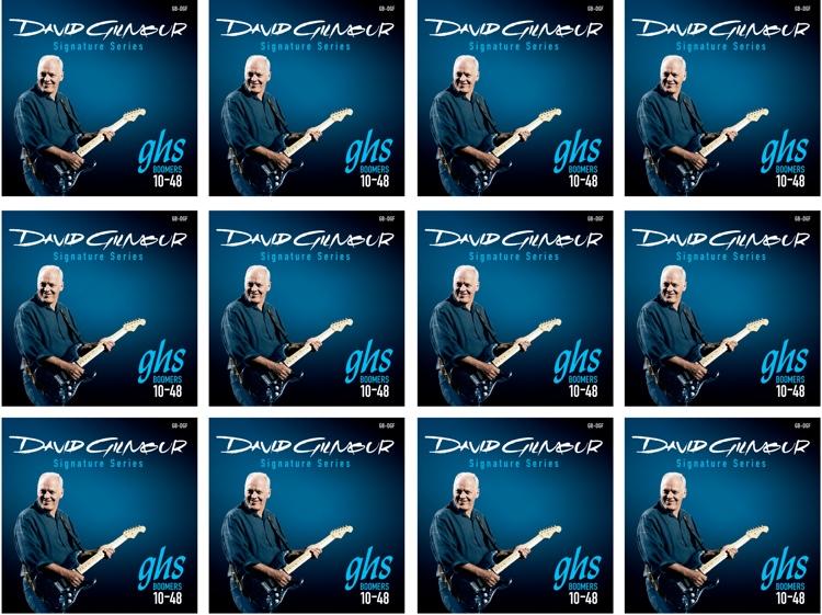 GHS GB-DGF Guitar Boomers David Gilmour Signature Electric Guitar Strings 12-Pack image 1