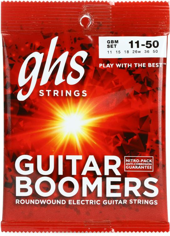 GHS GBM Guitar Boomers Roundwound Medium Electric Guitar Strings image 1