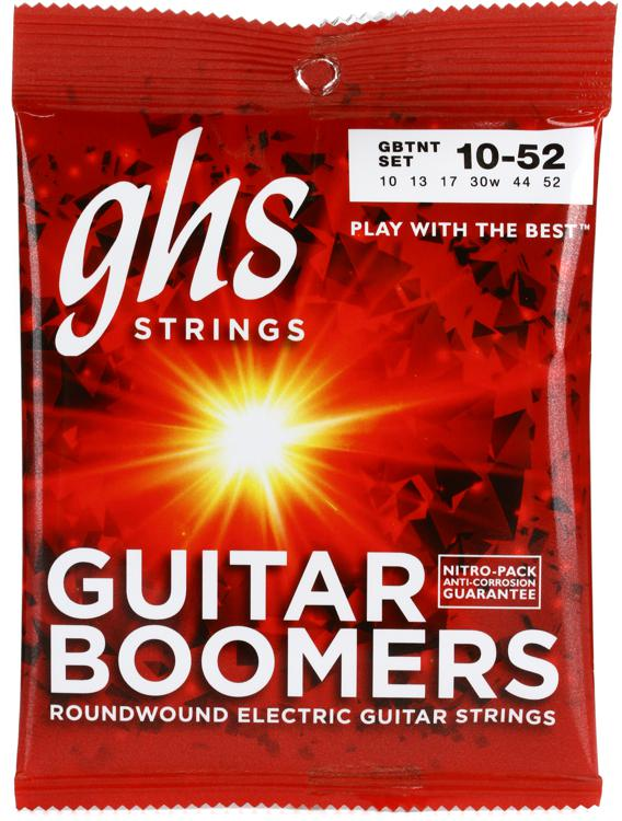 GHS GBTNT Guitar Boomers Roundwound Thick N Thin Electric Guitar Strings image 1