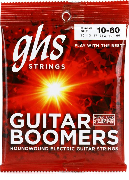 GHS GBZW Guitar Boomers Roundwound Light Top Heavy Bottom Guitar Strings image 1