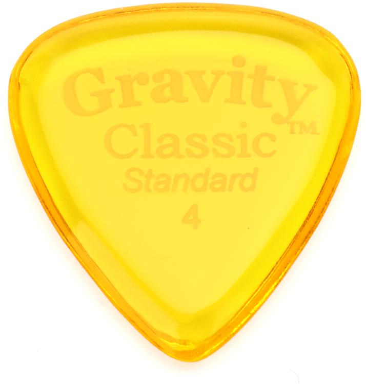Gravity Picks Classic - Standard Size, 4mm, Polished image 1