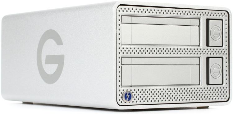 G-Technology G-Dock ev with Thunderbolt 2-Bay Hard Drive Dock image 1