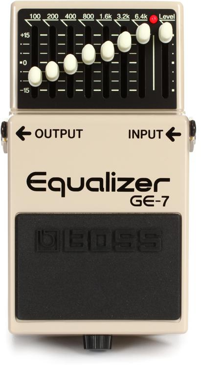 Boss GE-7 7-band EQ Pedal image 1