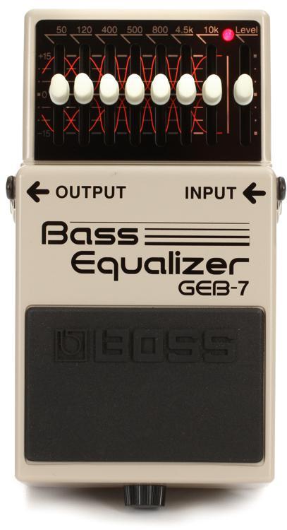 Boss GEB-7 7-band Bass EQ Pedal image 1