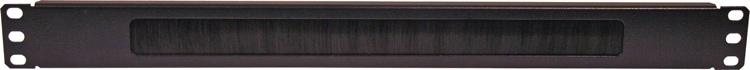 Gator GE-CBLENTBRSH1U - 1U Brush Type Cable Management image 1