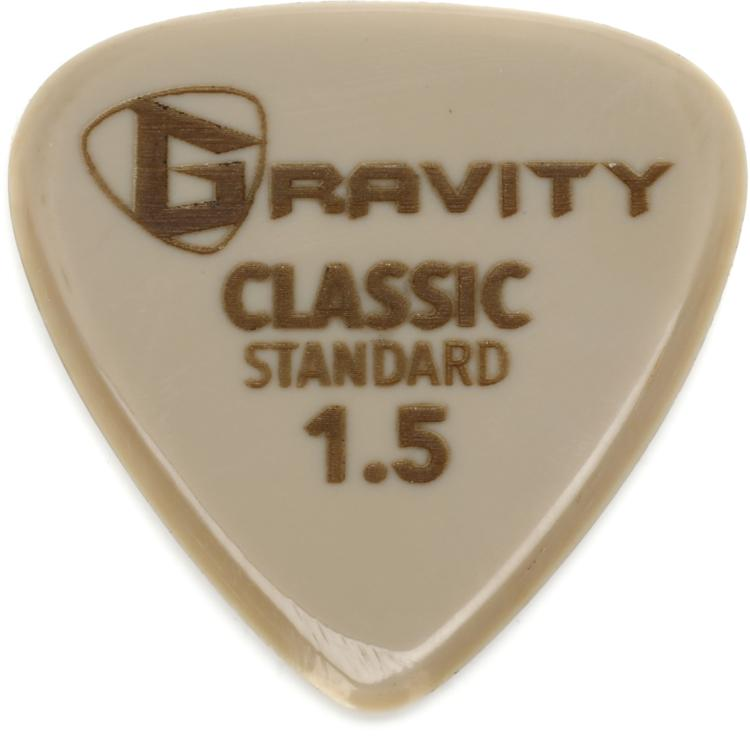 Gravity Picks Gold Classic - Standard Size, 1.5mm image 1