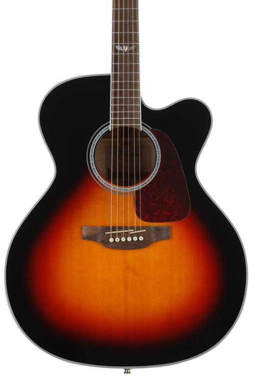 Takamine GJ72CE - Brown Sunburst image 1