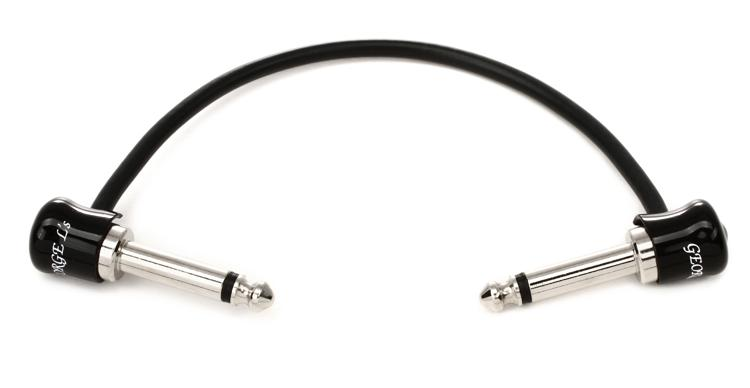 George Ls Guitar Patch Cable - .5\' Angle-Angle image 1
