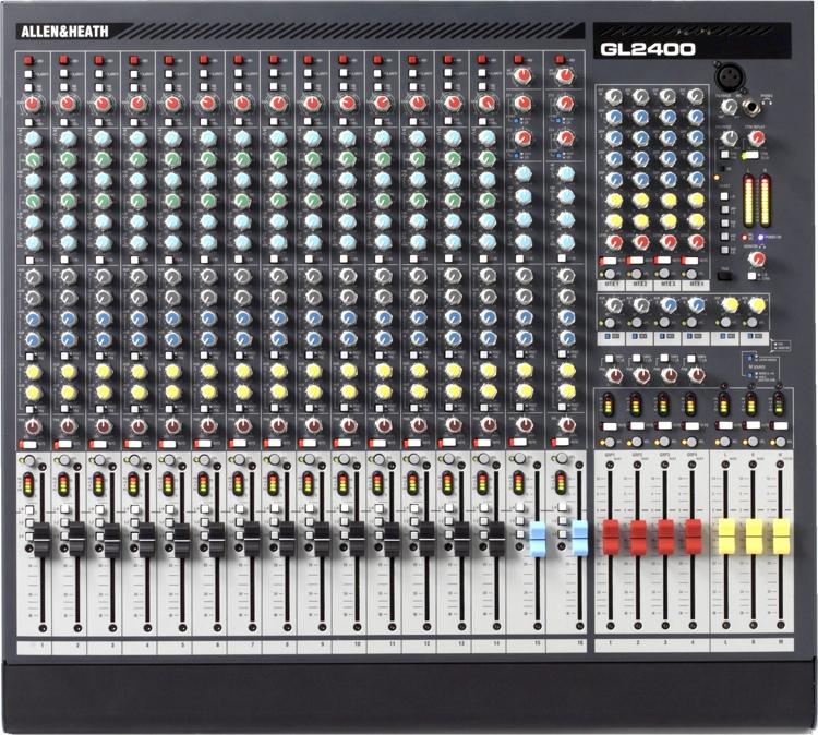Allen & Heath GL2400-16 Dual-function Live Mixer image 1