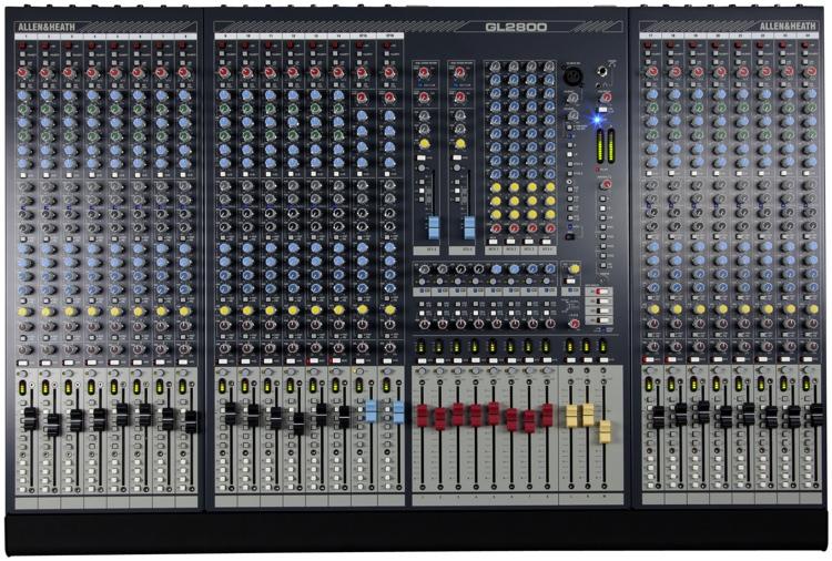 Allen & Heath GL2800-824 Dual-function Live Mixer image 1