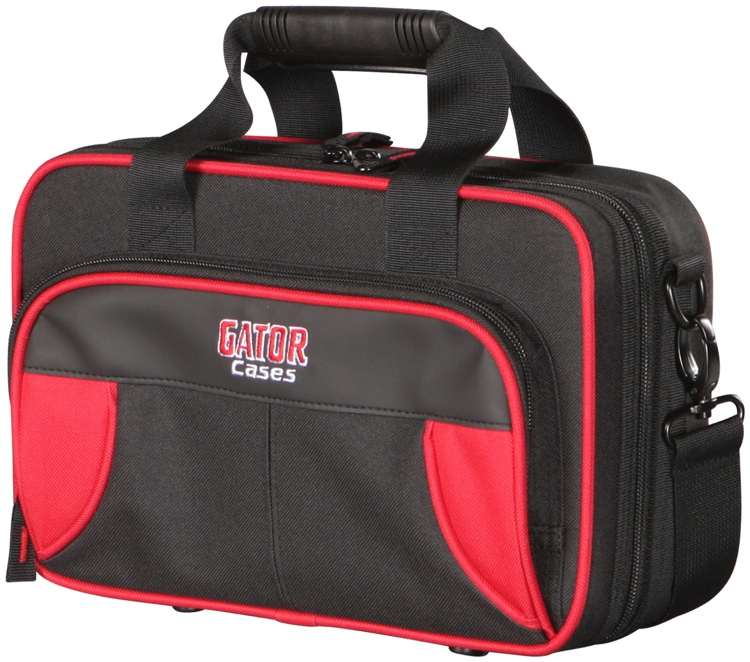 Gator GL-CLARINET-RK - Lightweight Clarinet Case, Red & Black image 1
