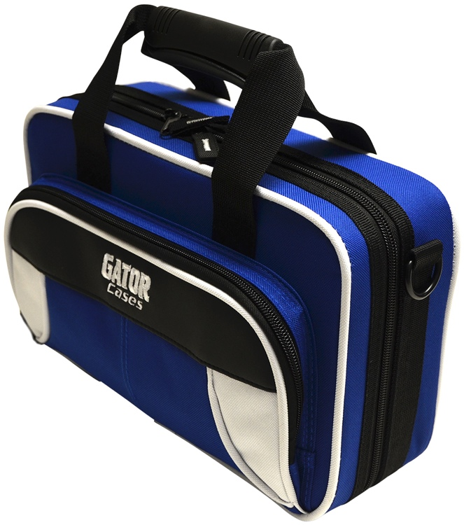 Gator GL-CLARINET-WB - Lightweight Clarinet Case, White & Blue image 1
